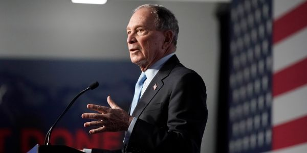 Mike Bloomberg said in 2016 that banks were 'his peeps' and vowed to defend them as president. That contradicts his recent pledge to get tough on Wall Street