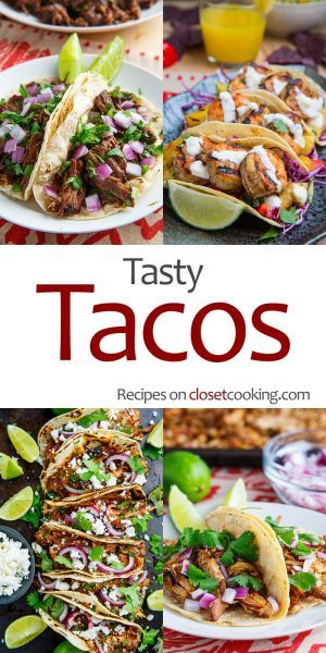 Tasty Tacos Recipes