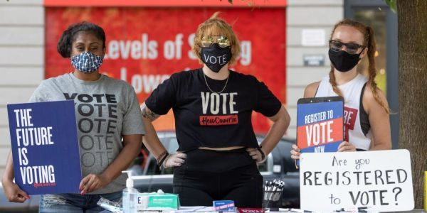 Nearly 1 million Americans have already voted in the 2020 election, compared to just 10,000 at this point in 2016