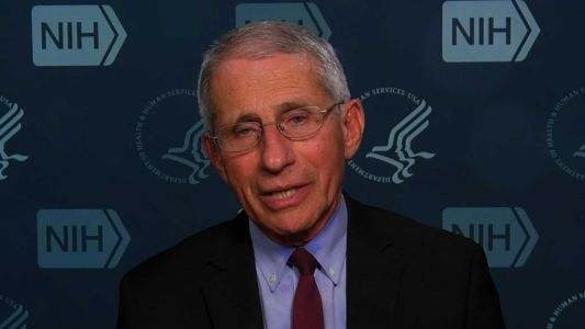 Fauci said he tested negative for coronavirus