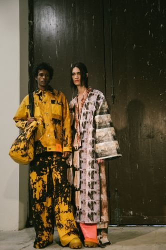 Sterling Ruby debuts a fashion line of wearable art at Pitti Uomo