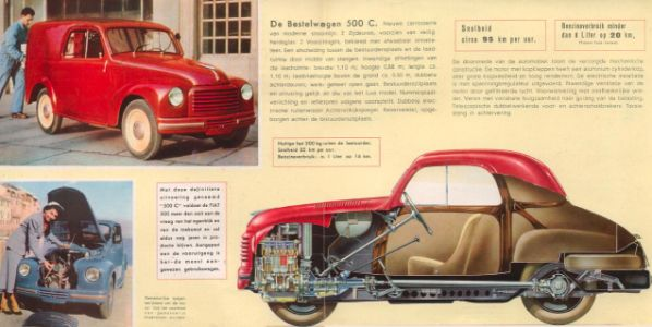 Before the little rear-engine, air-cooled runabout that came to define Italy's car culture for decad