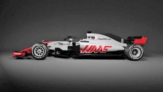 Haas Shows Off The First Halo F1 Car And It Doesn't Look Bad After All