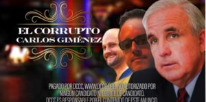 """WATCH: New DCCC Spanish TV Ad Highlights Corrupt Carlos Gimenéz's Record of Securing Shady Government Contracts for His """"Niñitos"""""""
