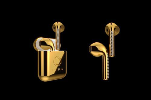 These Gold Apple AirPods Can Be Yours for $10,000 USD