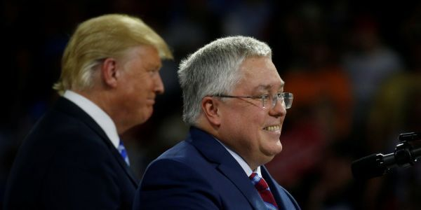 Republican Patrick Morrisey is betting that bipartisanship is dead in his Senate race against Democrat Joe Manchin in deep-red West Virginia