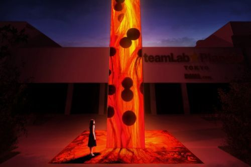 TeamLab Debuts New Flame Installations in Tokyo