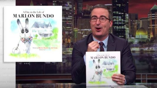 John Oliver released a parody of a children's book that Mike Pence published to challenge 'his hostility to LGBT rights'
