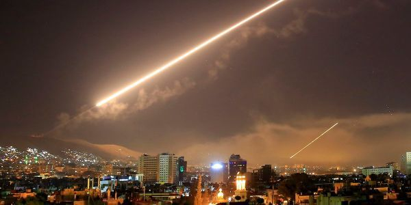 Syria reportedly only fired 2 air defense missiles during the US strike, and then fired 38 more blindly