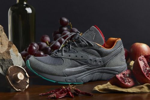 "Raised By Wolves Adds Stash Pocket to the Saucony AYA ""Asphalt Jungle"""