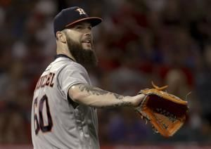 Keuchel's no-hit bid ends in 7th on nearly-caught liner