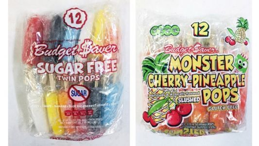 Fruit-flavored ice pops recalled due to possible listeria contamination