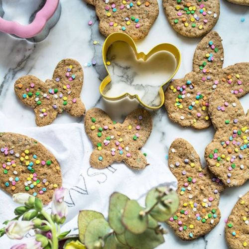 Gluten-Free Easter Sugar Cookies