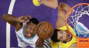 Kemba gets 19 in Hornets' 108-94 rout of slumping Lakers