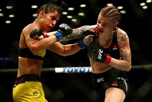 UFC on ESPN+ 1 winner Joanne Calderwood on Jessica Eye's reply to callout: 'I just see excuses'