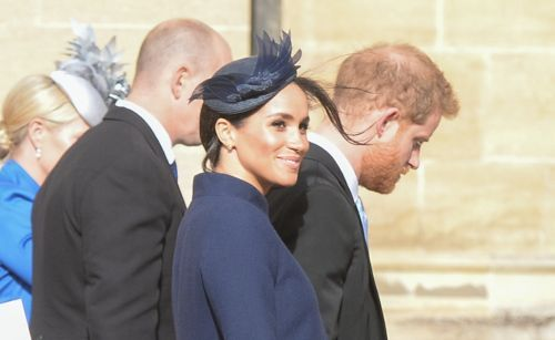 ICYMI: Meghan Markle Was Totally Hiding Her Baby Bump At Princess Eugenie's Wedding