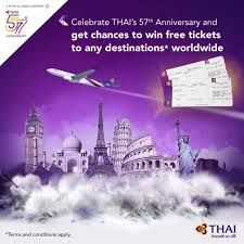 Get chance to win roundtrip tickets with Thai Airways photo contest