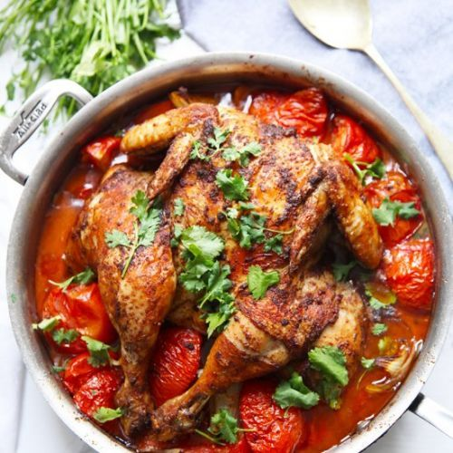 One-pan Spiced Chicken