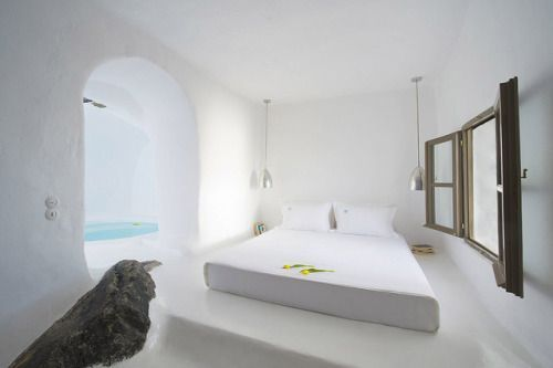 A Cave Pool Suite Is All You Need for a Few Days of Santorini