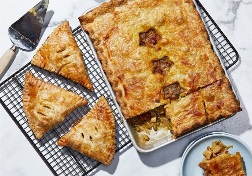 Turn curried chicken into a pie or turnover