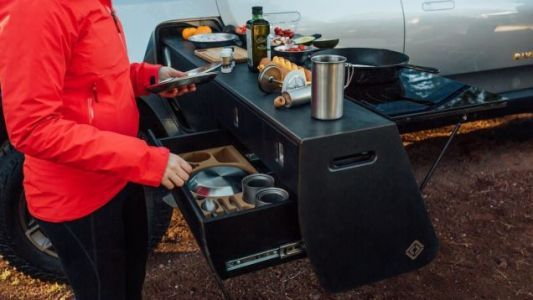 Rivian Put an Overlanding Kitchen in Its R1T and It Rules