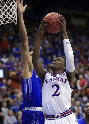 Mykhailiuk helps No. 4 Kansas rout South Dakota State, 98-64