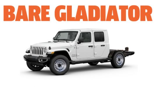 Jeep Needs To Build A Chassis-Cab Gladiator