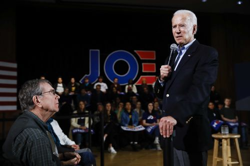 Biden says Ernst 'spilled the beans' with caucus comments amid impeachment fight