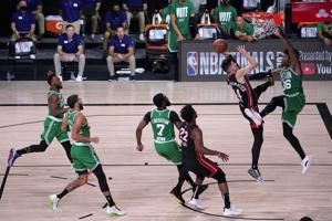 He's a Herro: Heat top Celtics, move a game from NBA Finals