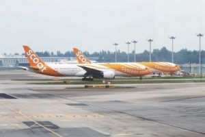 Scoot To Re-Locate From Terminal 2 To Terminal 1 At Singapore Changi Airport