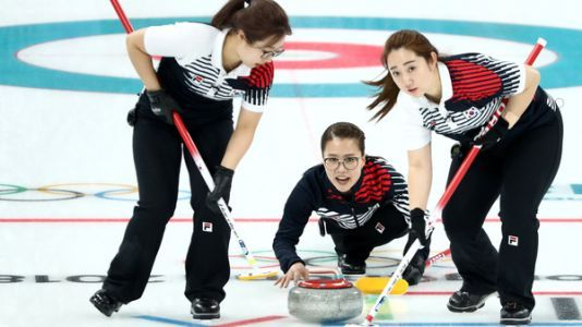 The 'Garlic Girls,' South Korea's Women Curlers, Are A Surprise Olympics Sensation