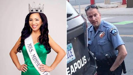 Pageant queen wife seeks DIVORCE from Minneapolis cop charged with murder of George Floyd