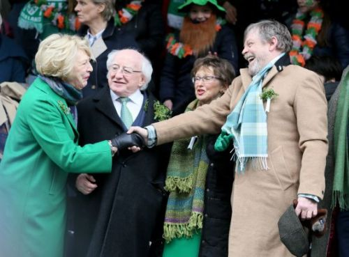 'Star Wars' Actor Mark Hamill Is Having a Really Great Time at Dublin's St. Patrick's Day Parade