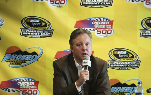 NASCAR chairman, CEO Brian France, arrested on suspicion of DWI, takes leave of absence