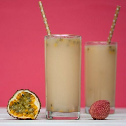 Litchi, Lime and Ginger Spritzer