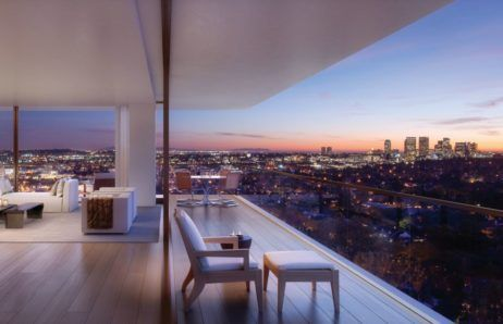 1201, The Residences at the West Hollywood Edition, Los Angeles, California