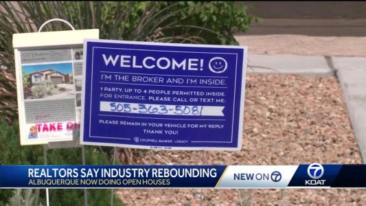 'Buyers are coming out in droves': Realtors say industry is rebounding