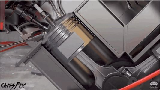 Here's A Cool Cutaway Explaining Engine Knock And Fuel Octane