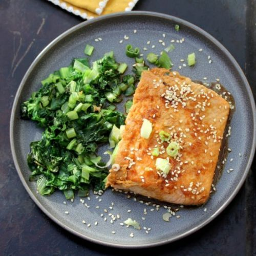 Ginger Soy Maple Salmon