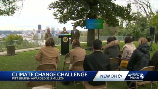 Pittsburgh awarded $2.5 million from Bloomberg to address climate change