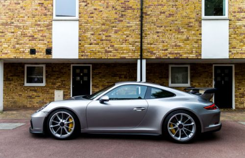 I'm Driving To The 24 Hours Of Le Mans In This Porsche 911 GT3
