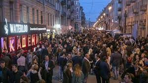 While officials encourage tourism locals fear over-tourism in St Petersburg
