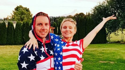 Kristen Bell, Dax Shepard And More Stars Get Patriotic For July 4th