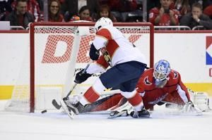 Huberdeau helps Panthers beat Capitals for 1st win