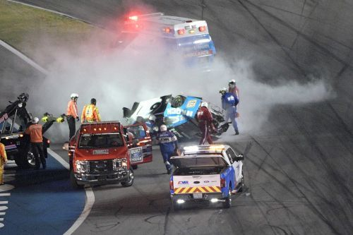 Ryan Newman continues to receive treatment in Daytona Beach after horrific crash