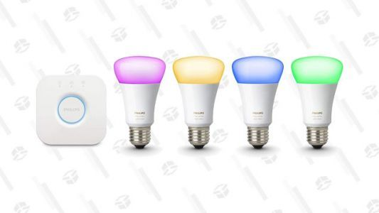 Light Up Your Life With This Refurbished Philips Hue Starter Set