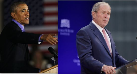 2 former presidents - from both parties - blast the state of American politics