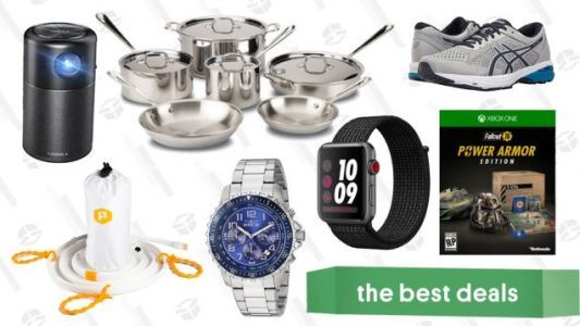 Monday's Best Deals: Zappos Sale, LTE Apple Watch, E3 Preorder Discounts, and More