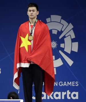 Sun, Ikee compete for attention in Asian Games swimming pool
