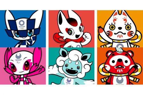 Watch the Potential 2020 Tokyo Olympic Games Mascots in Action